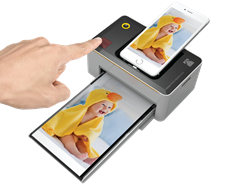 The one touch, convenient printing solution: the KODAK Photo Printer Dock