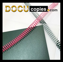 New cover options and spiral binding colors are live at DocuCopies.com.
