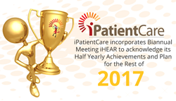 iPatientCare incorporates Biannual Meeting iHEAR to acknowledge its Half Yearly Achievements and Plan for the Rest of 2017