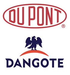 DuPont and Dangote Logos
