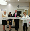 Dunedin Ribbon Cutting with Lynn Wargo, Dunedin Chamber of Commerce, Tricia Williams, President & CEO Florida Hospital North Pinellas, Chris Christopoulos, Walgreens & Suzanne DesRosiers, ARNP