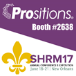 Mobile Application for Micro-Learning and Newly Released Training Programs Featured at the Prositions Exhibitor Booth during the SHRM 2017 Annual Conference & Exposition