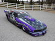 """Support Our Heroes"" Pro Mod Drag Race Car From Purple Gorilla Racing On Exhibit At Dave's Claremore RV"