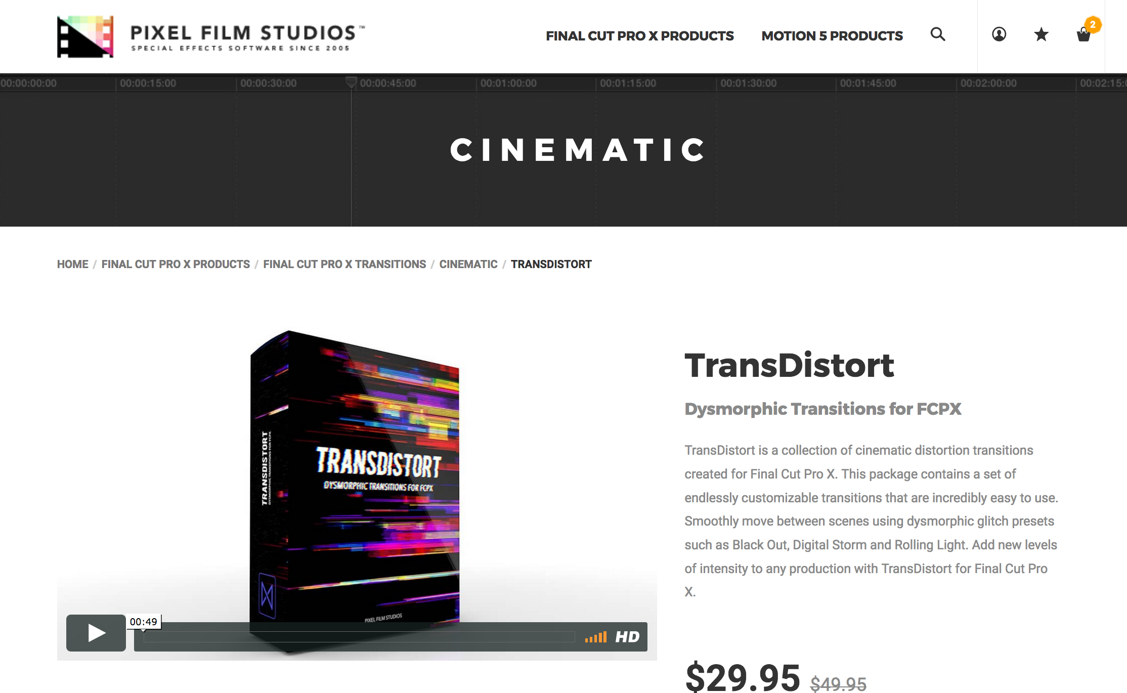 Film transitions fcpx
