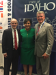 Senator Jim Risch (I) and Idaho Governor Butch Otter (R) join former U.S. Secretary of Commerce Penny Pritzker at SelectUSA Summit 2016.