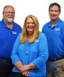 Team Sherman (left to right): Jon Sherman, Kathy Sherman, Hamp Wilson