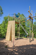 Vertical and Inclined Climbing Wall