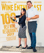 August cover of Wine Enthusiast Magazine