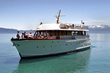 Guests of The Landing Resort & Spa Roaring Twenties summer package will take a sunset cruise on Safari Rose, a vintage yacht used by long-ago captains of industry (photo: Tahoe Cruises).