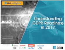 Understanding GDPR Readiness in 2017