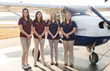 Liberty University's Flight Team, the Liberty Belles, to Champion Women's Aviation at Annual Air Race Classic