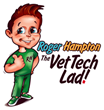 Roger Hampton: The Vet Tech Lad!