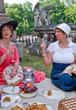 picnic-in-Savannah-GA-cemetery