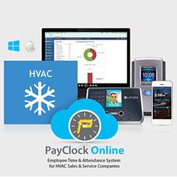 HVAC Industry Deploys PayClock Online