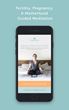 Expectful provides guided meditation for fertility, pregnancy, and motherhood