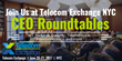 "FreeConferenceCall.com Joins ""IoT Myths & Realities"" Roundtable at Telecom Exchange NYC"