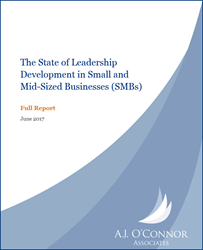 State of Leadership Development in SMBs - Full Report Cover
