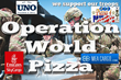 Operation World Pizza Makes Its Way Across the Waves