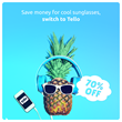 Summer Deal for Tello Customers: 70% Off Any New Plan