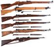 Mosin Nagant, Enfield, Mauser