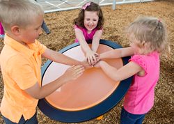 Rhapsody® Outdoor Musical Instruments now invite preschoolers to explore the power of music.