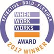Amerisure Receives 2017 When Work Works Award