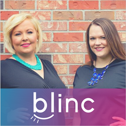 Blinc Digital Group's co-founders, Brienna Pinnow (left) Lindsey Harju (right), collaborate with data-driven companies to build new products and successfully take them to market.