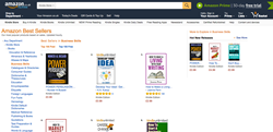 Power persuasion was featured under hot new releases in business skills