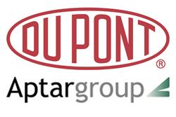 DuPont and Aptar Logos