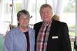 Mary K. Spengler, MS, chief executive officer, HOW and William H. Guyre, president, Wainwright House Board of Directors, at the Seventh Annual Memorial Butterfly Release.