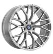Beyern Wheels- the Antler in Silver w/ Mirror Cut Face