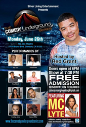 """Silver Lining Entertainment Announces The Return of """"The Comedy Underground Series"""" Season 2"""