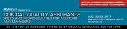 Clinical Quality Assurance Aug 2017