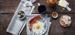 Parma Ham and eggs