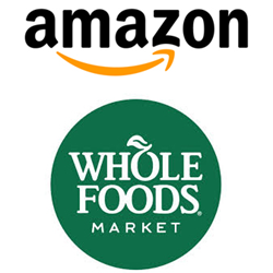 Amazon And Whole Foods Logos