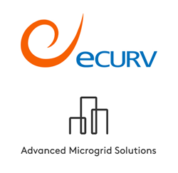 eCurv and Advanced Microgrid Solutions Logo