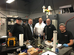 Congressman Davidson visits Graphel Corporation