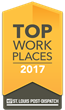 The Post-Dispatch Names BizLibrary a Winner of the Greater St. Louis Area 2017 Top Workplaces Award