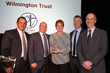 "Wilmington Trust's Capital Markets Structured Finance team accepts the ""Overall Best Securitization Trustee of the Year"" award presented by GlobalCapital."