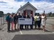 Savannah Quarters® Presents CSAH with Check to Build Tiny Homes for Homeless Veterans