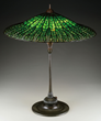 Lot 1104, A Tiffany Studios Lotus Table Lamp, Realized $84,700.