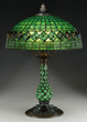 Lot 1107, A Tiffany Studios Turtleback Table Lamp, Realized $72,600.