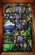 Lot 1365, A Tiffany Studios Leaded Glass Wisteria Window, Realized $257,850.