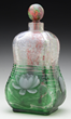 Lot 1589, A E. Michel Cameo Glass Bottle, Realized $20,570.