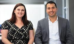 Alysia Heun and David Celaya of Realty Executives International