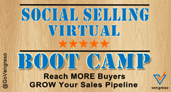 Vengreso Social Selling Training Virtual Boot Camp