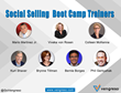 Vengreso Founders Delivering Training at Social Selling Virtual Boot Camp