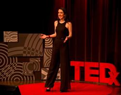Angela Copeland gives TEDx Talk
