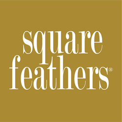 Square Feathers Logo