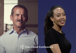 Clio Cloud Conference announces their first two keynote speakers, Colonel Chris Hadfield and Haben Girma.